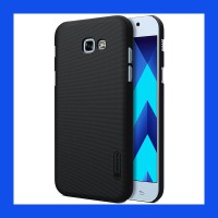 Samsung Galaxy A7 2017 Nillkin Frosted Hard Case Casing Cover - Hitam