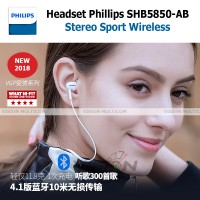 Headset Bluetooth | Philips SHB5850 | In-Ear Sound | OEM