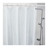 IKEA INNAREN, Tirai shower bebas klorin, uk 200x180cm