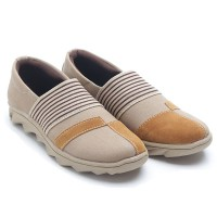 Dr.Kevin Women Canvas Shoes 43206 - 3 Colors [ Camel,Navy,Brown/Black ]