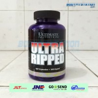 Ultimate Nutrition Ultra Ripped Fast Acting Formula 180 Capsules / 180cap 180caps burn cap caps capsules faf fat fatburn kapsul loss lose suplemen suplement supplemen supplement un