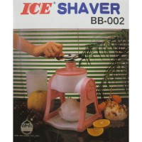 Ice Shaver Manual BB-002