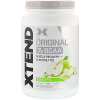 Scivation Xtend BCAAs 90 Servings Smash Apple - amino bcaa bubuk powder power recovery