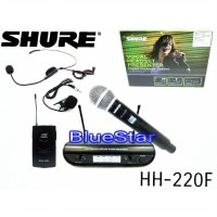 Mic Wireless Shure HH220F Pegang Jepit Headset