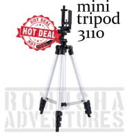 Romusha Tripod 3110 Portable For Digital Camera Smartphone