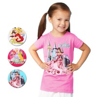 [PRINCESS SERIES] Kaos Princess Junior - Princess Series - Kaos Anak Perempuan - Ready Limited Stock