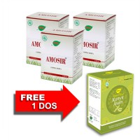 Jamu IBOE Amosir Herbal Supplement 3 botol @30 kapsul