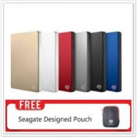 HDD - Hardisk external seagate Back up plus slim 5tb 2.5inch + Free pouch