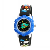 Linkgraphix KTS06 Flying Jam Tangan Anak - Black