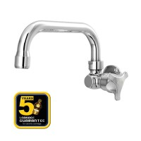 AER Kran Dapur - Keran Air Kuningan / Brass Kitchen Faucet - Wall Mounted HOV 03C