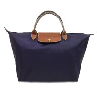 Tas Wanita Authentic Longchamp Le Pliage Classic Large Short Handle