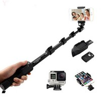 Tongsis Monopod Yunteng Yt-1288 With Bluetooth Shutter Samsung iPhone Lenovo Asus Xiaomi