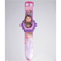 Jam Tangan Anak Boneka Sofia The First Laser, Proyektor, Senter AJP83