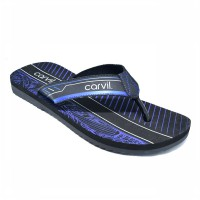 CARVIL SANDAL PRIA EVLAN BLACK-ROYAL BLUE