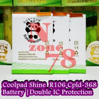 Baterai Coolpad Shine R106 Cpld-368 Double IC Protection