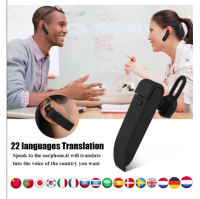 Handsfree penerjemah bahasa bluetooth headset language translator