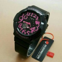 JAM TANGAN WANITA REDDINGTON ORIGINAL BABY G BLACK PINK