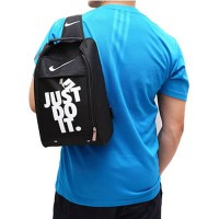 TAS SEPATU FUTSAL SLING BAG JUST DO IT FUTSAL SPORT RUNNING GYM