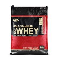 Optimum Nutrition Gold Standard 100 Whey 10 Lbs Strawberry 10lb 10lbs iso isolate lb on protein supl
