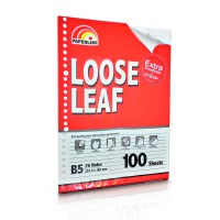 LOOSE LEAF PAPERLINE B5 - 100 LEMBAR (FOLDER SHEET)