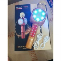 WS-1816 MIC WSTER LED Wireless Microphone Bluetooth