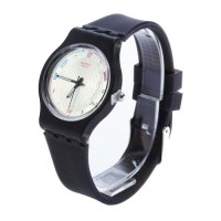 Jam Tangan Casual Unisex Watches Type Jam Tangan Fashion Rubber Type 6 pilihan warna (FIN-40)
