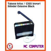 Tabung Infus CISS Silinder Hitam Import