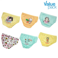 Finy Girls - Value Pack - Celana dalam anak perempuan - Little Girl & Girls Only - 6 Pcs