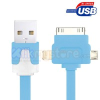 3 in 1 Flat Cable Universal