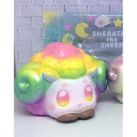 Soft And SlowRise Squishy SHERATAN THE SHEEP - RAINBOW BY IBLOOM