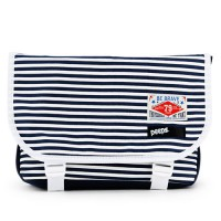 [PEEPS] E2 mini messenger bag(stripe_navy)