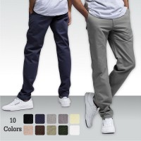 Celana Chino Formal | Bahan Stretch / Melar / Celana Panjang Chino /10 Warna