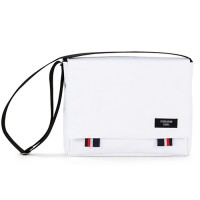 [PEEPS] bridge messenger bag(white)