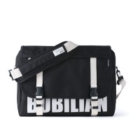 [BUBILIAN] LOGO MESSENGER BAG (black)
