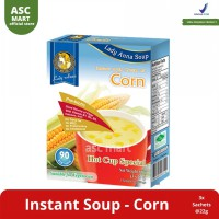 Lady Anna Instant Soup Corn/Chicken/Spinach/Mushroom