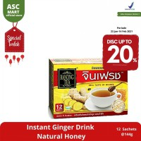 Ranong Tea Instant Ginger Drink Natural Honey