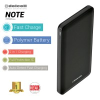 Delcell NOTE Powerbank 10.500mAh Real Capacity Polymer Battery