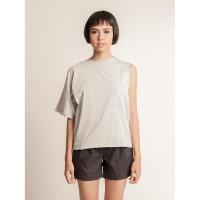 Alia Top Grey