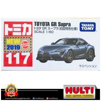CAR TOMY 117 TOYOTA GR SUPRA BLACK 79922
