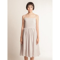 Adele Dress Light Grey