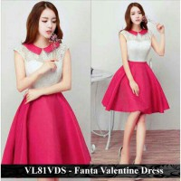 dress wanita murah - jual dress termurah - VL81VDS - Fanta Valentine dress