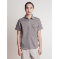 Axel Shirt Dark Grey