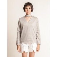 Akhila Top Grey