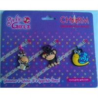 Girlie Girlz TM3330b Single Side Charm for Pen/Pencil