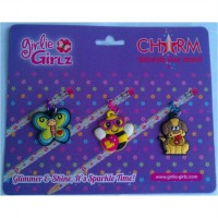 Girlie Girlz TM3330c Single Side Charm for Pen/Pencil