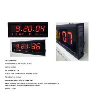 Jam Dinding Digital Hotai Besar / Calender Wall Led Digital Clock