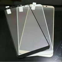 Oppo A59 F1s CARBON Tempered Glass Kaca Plastik Color Warna List Anti Gores Android