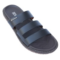 Neckermann Sandal Pria Fresno 773 Dark Brown