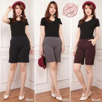 Cj collection Celana pendek hotpant wanita jumbo short pant Polosia