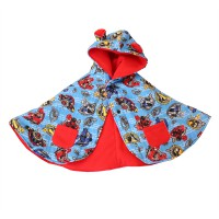 Bibbo Babycape Red Ranger Baby Cape - RED
